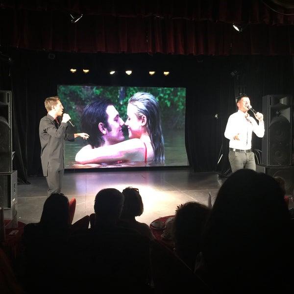 Снимок сделан в Театр-кабаре на Коломенской/ The Private Theatre and Cabaret пользователем Анастасия Ю. 6/29/2017