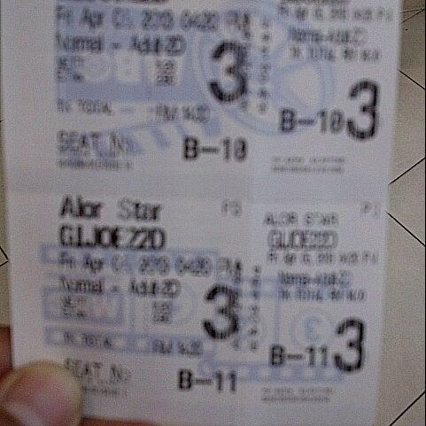 Photo taken at Big Cinemas by Nashriq N. on 4/5/2013