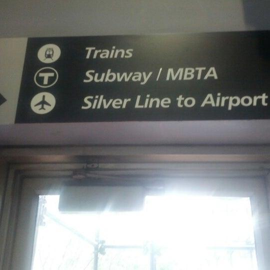 Photo taken at South Station Terminal (MBTA / Amtrak) by kyle g. on 2/6/2013