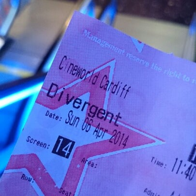 Photo taken at Cineworld by A-Mad K. on 4/6/2014