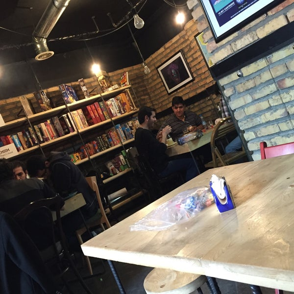 Photo taken at Board Café by Pegah P. on 2/22/2016