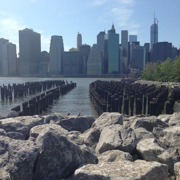 Photo taken at Brooklyn Bridge Park by Jenna D. on 5/27/2013
