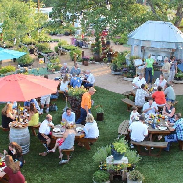 Atlanta Garden Of Bill Hudgins: Cafe At The Ridge