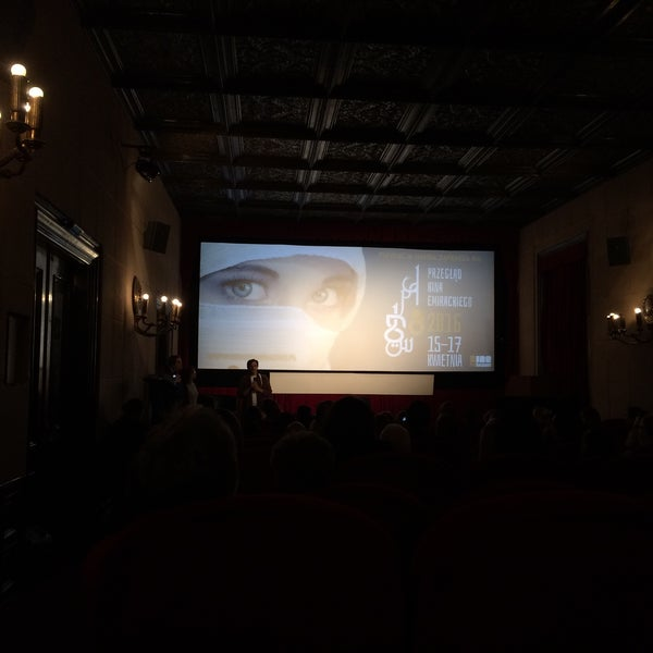 Photo taken at Kino Pod Baranami by Michal P. on 4/15/2016