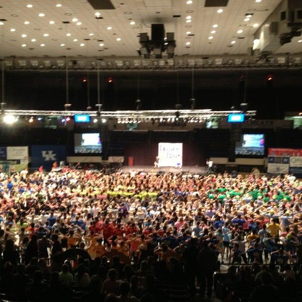 Photo taken at Memorial Coliseum by Brad P. on 2/23/2013