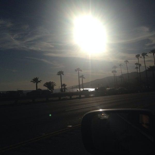 Photo taken at Pacific Palisades Beach by Lori K. on 5/2/2014