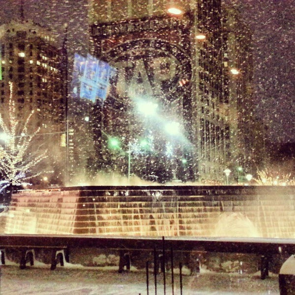 Photo taken at Campus Martius by Alex L. on 2/4/2013