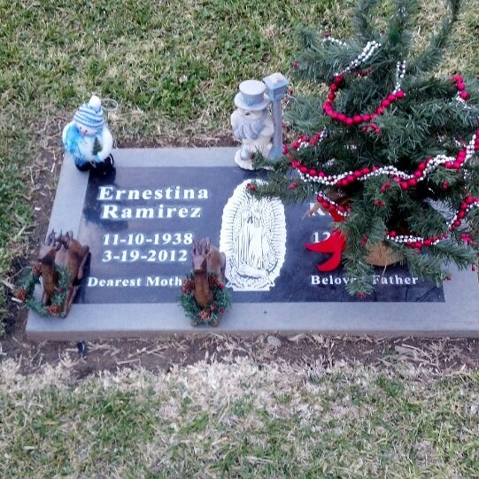 Photo taken at Oakdale Memorial Park and Mortuary by Mercedes M. on 12/19/2013