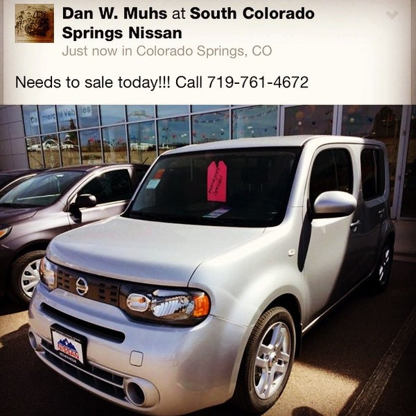 Photo Taken At South Colorado Springs Nissan By Dan M. On 4/10/