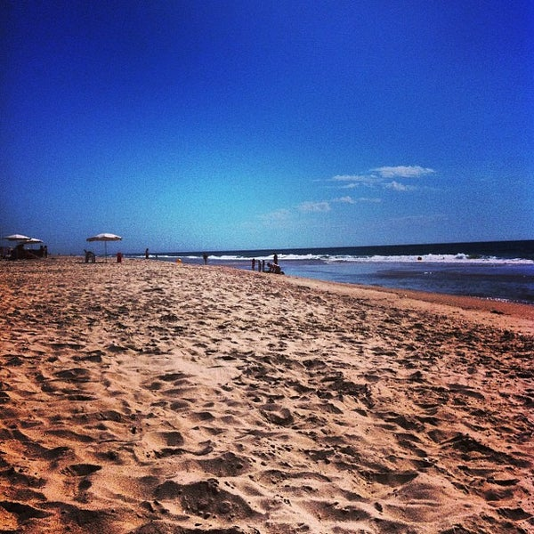 Photo taken at Praia do Barril by Paulo G. on 5/4/2013