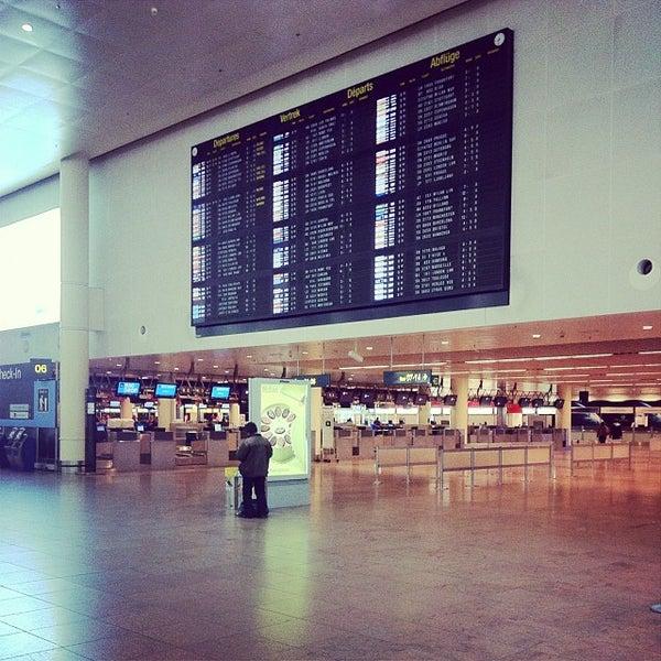 Снимок сделан в Брюссельский аэропорт (BRU) пользователем Christian D. 10/21/2013