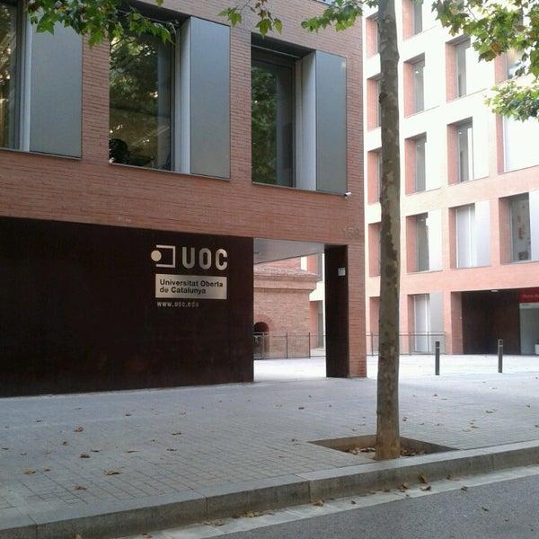 Uoc universitat oberta de catalunya sant marti for Oficina habitatge sant marti