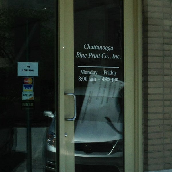 Chattanooga blue print company office in downtown chattanooga malvernweather Images