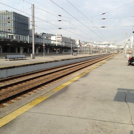 Photo taken at Estação Ferroviária de Porto-Campanhã by Paulo B. on 12/12/2012