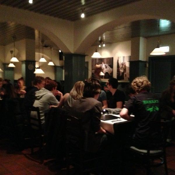 Photo taken at Karalis Pizzeria by Benjamin d. on 3/9/2013