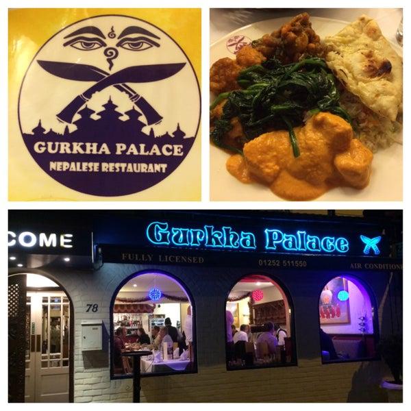 Great Nepalese Restaurant Menu