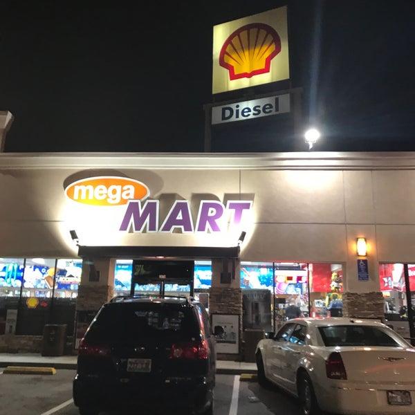 Photo taken at Shell by Karen L. on 1/30/2017