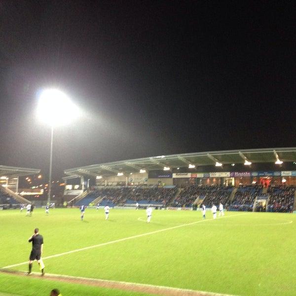 Photo taken at The Proact Stadium by Rebekka B. on 1/21/2014