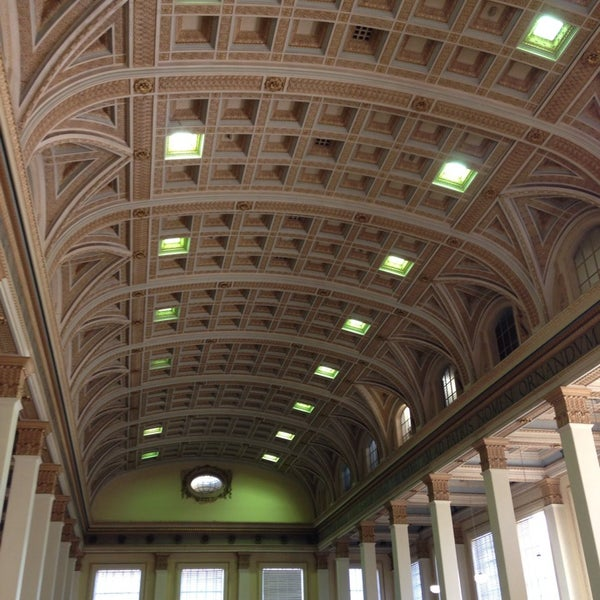 Photo taken at Barr Smith Reading Room by Ameline D. on 8/6/2014