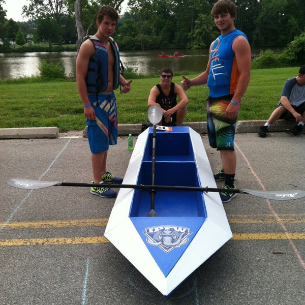Photo taken at IPFW RiverFest by Steve F. on 6/22/2013