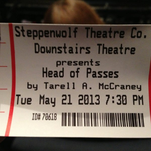 Photo taken at Steppenwolf Theatre Company by Justin C. on 5/22/2013