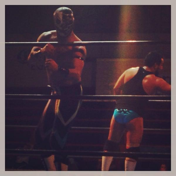 Photo taken at Arena Adolfo Lopez Mateos by Marisol on 12/9/2013