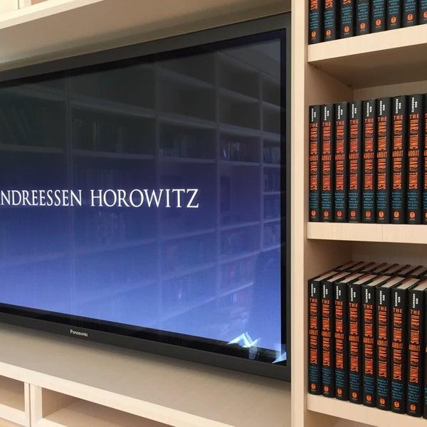 Photo taken at Andreessen Horowitz by Patrick V. on 9/24/2014
