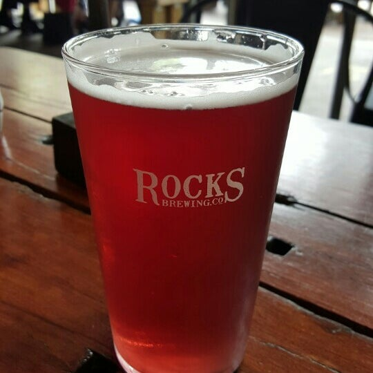 Photo taken at Rocks Brewing Co by Hannah W. on 2/4/2016
