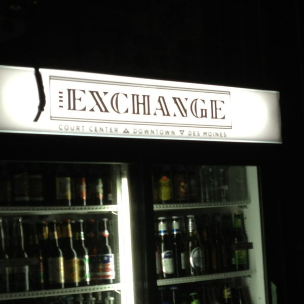 The Exchange Bar In Downtown Des Moines