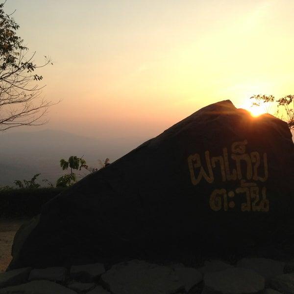 Photo taken at ผาเก็บตะวัน by Ch😘mPღღ 。. on 1/20/2013