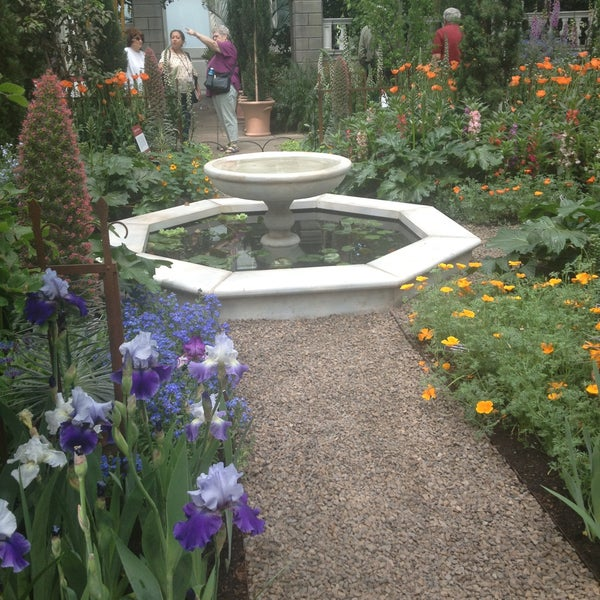 Photo taken at Enid A. Haupt Conservatory by Priscilla H. on 5/16/2013