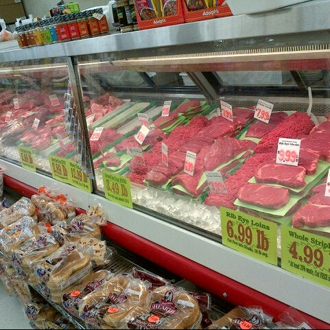 photo taken at jacks fruit meat market by k j