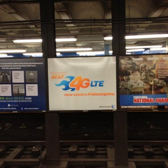 Photo taken at SEPTA MFL/TRL 15th Street Station by Sharyn F. on 12/9/2012