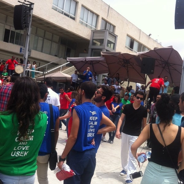 Photo taken at Holy Spirit University Of Kaslik by Wafy W. on 5/29/2014