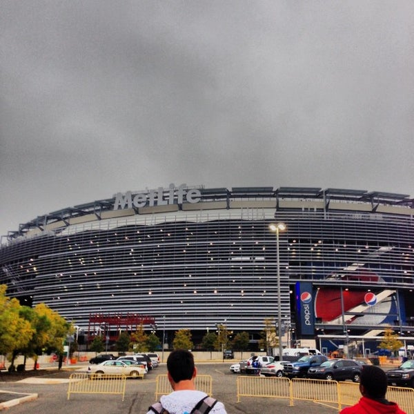 Photo taken at MetLife Stadium by Andrew S. on 10/6/2013