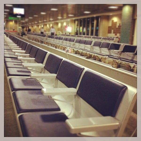 Снимок сделан в Международный аэропорт Конгоньяс/Сан-Паулу (CGH) пользователем Fabiano M. 4/3/2013