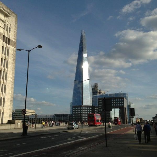 Photo taken at London Bridge by The Ellie P. on 6/2/2013