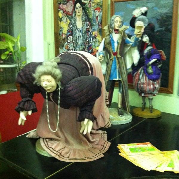Снимок сделан в Музей кукол пользователем Тамара 5/18/2013