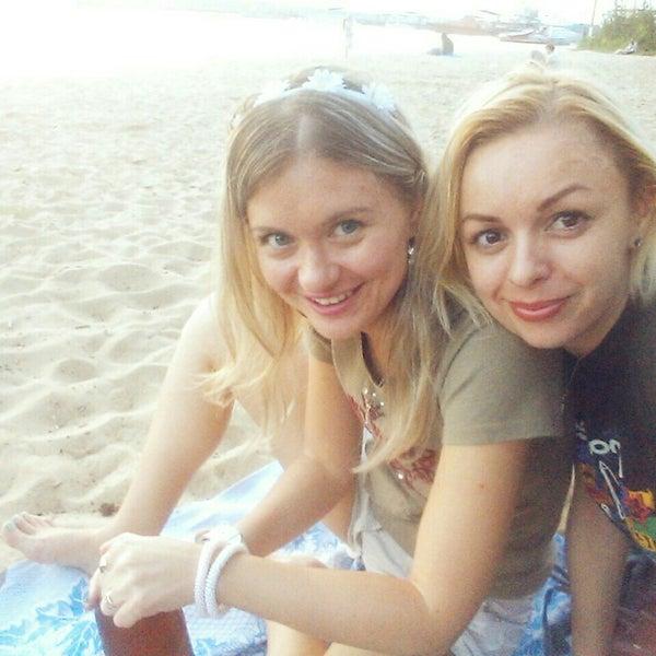 Photo taken at Пляж в Октябрьском by Tannie P. on 6/17/2016