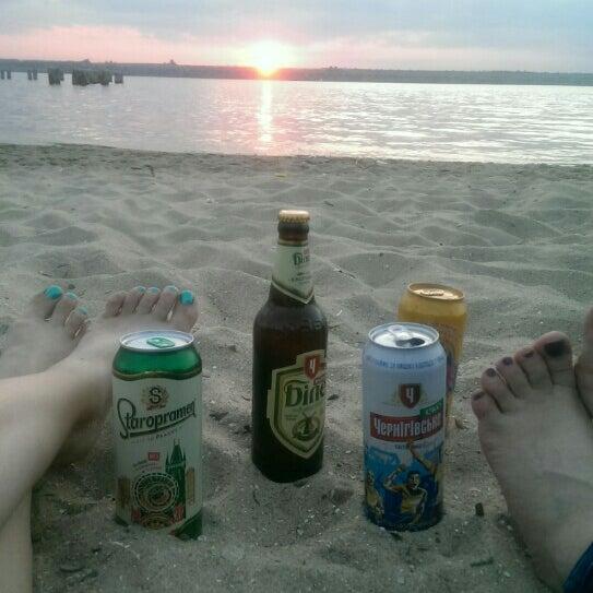 Photo taken at Пляж в Октябрьском by Tannie P. on 6/24/2016