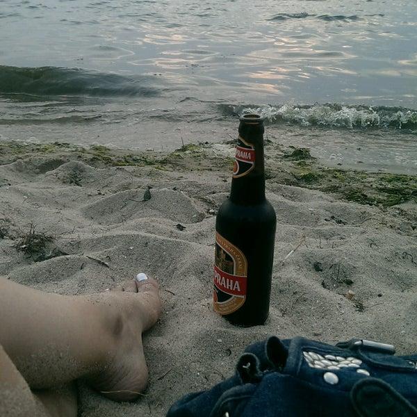 Photo taken at Пляж в Октябрьском by Tannie P. on 7/30/2016
