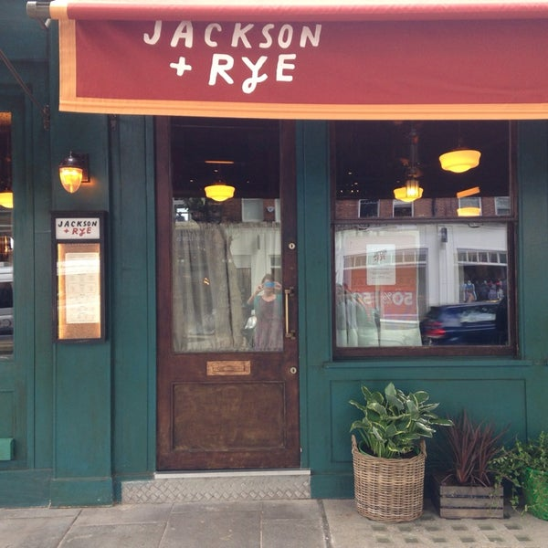 Jackson rye american restaurant in london for American cuisine in london