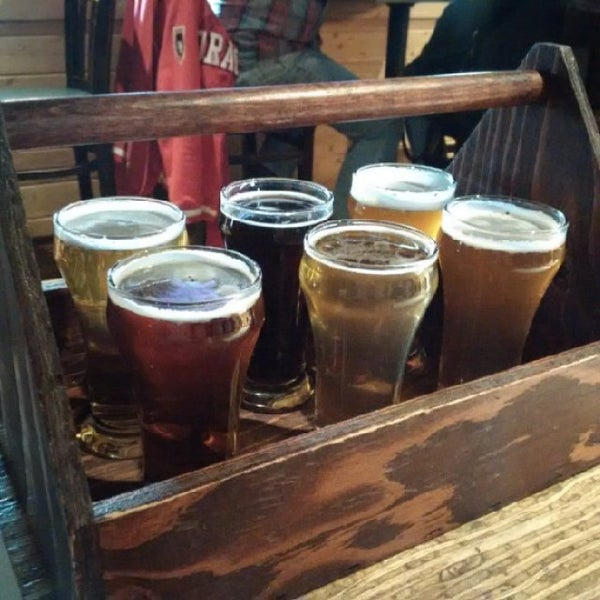 Photo taken at Banff Avenue Brewing Co. by Kyle S. on 5/28/2016