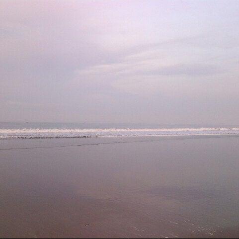 Photo taken at Pantai Barat Pangandaran by Yandi P. on 11/29/2012