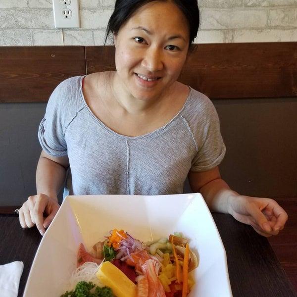 Photo taken at Sushi Tomo by James G. on 5/4/2017