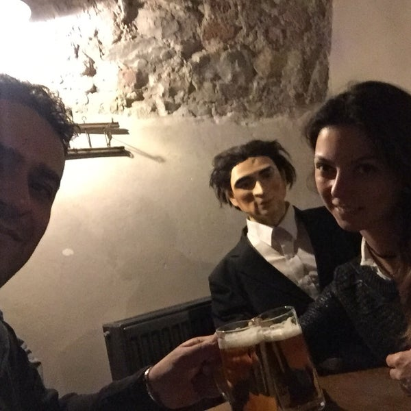 Photo taken at Czech Beer Museum Prague by Tuğçe Y. on 11/20/2016