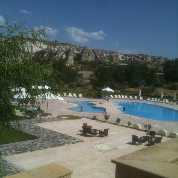 6/13/2013 tarihinde Ali K.ziyaretçi tarafından Tourist Hotels & Resorts Cappadocia'de çekilen fotoğraf