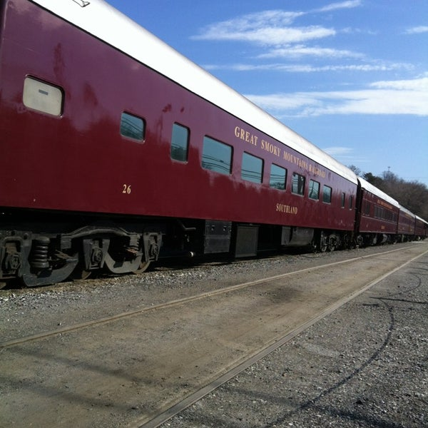 Photo taken at Great Smoky Mountain Railroad by Mingbot R. on 3/9/2013