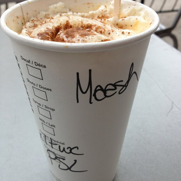 "Photo taken at Starbucks by Michele ""Meesh"" B. on 9/29/2013"