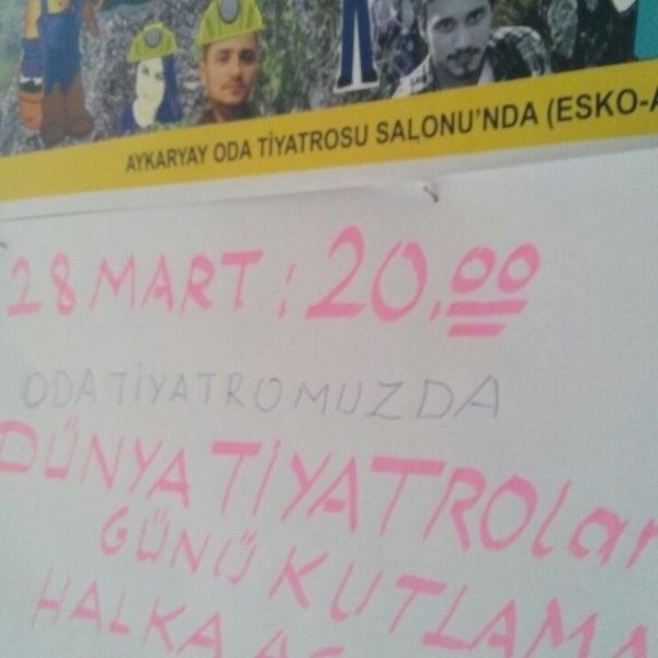 Photo prise au aykaryay tiyatro Derneği par Tahsin A. le3/28/2015